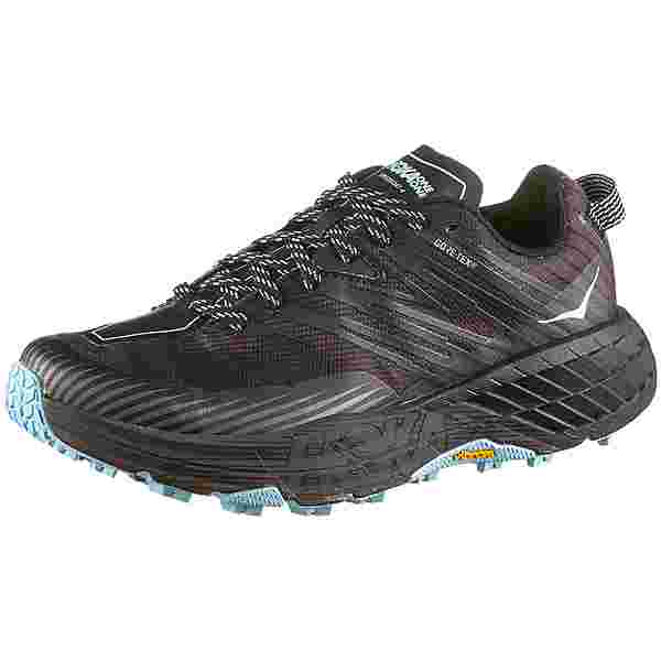 Hoka One One GTX SPEEDGOAT 4 Trailrunning Schuhe Damen anthracite dark gull grey