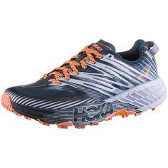 Hoka One One SPEEDGOAT 4 W Trailrunning Schuhe Damen majolica blue heather