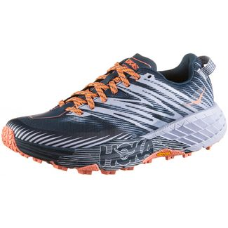 Hoka One One SPEEDGOAT 4 Trailrunning Schuhe Damen majolica blue heather