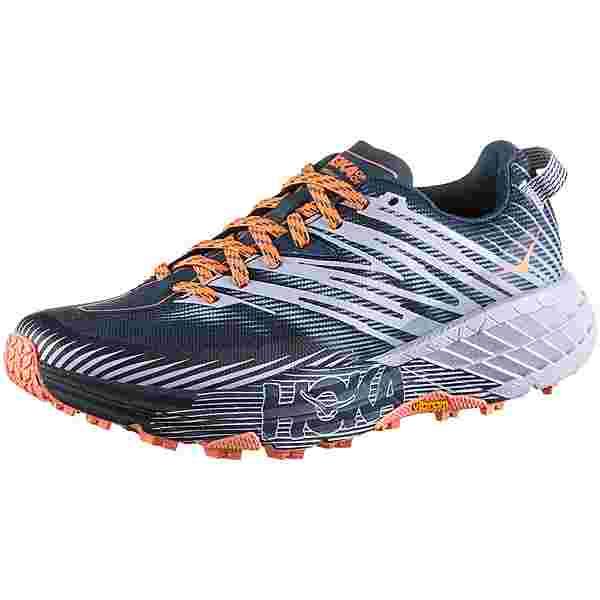 Hoka One One SPEEDGOAT 4 Trailrunning Schuhe Damen majolica blue heather