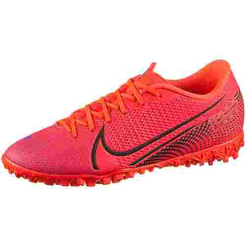 Nike MERCURIAL VAPOR 13 ACADEMY TF Fußballschuhe laser crimson-black-laser crimson