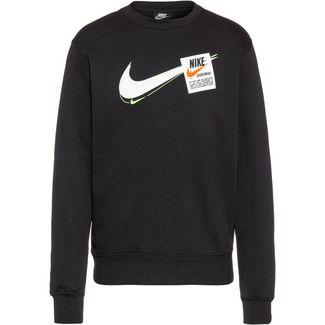 Nike T100 Swoosh Heritage Sweatshirt Herren black