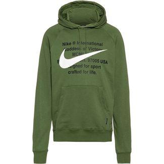 Nike NSW Swoosh Hoodie Herren treeline-white