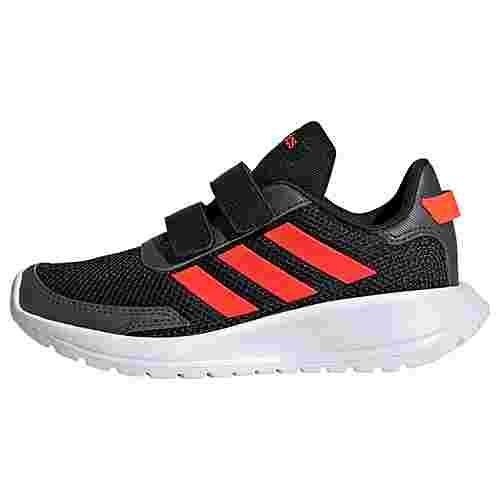 adidas Tensor Schuh Laufschuhe Kinder Core Black / Solar Red / Grey Six