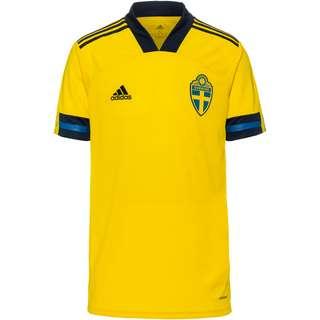 adidas Schweden EM 2021 Heim Trikot Herren yellow