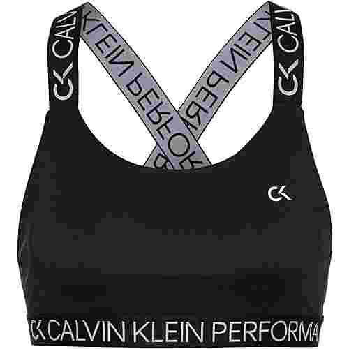 Calvin Klein Taping Sport-BH Damen ck black
