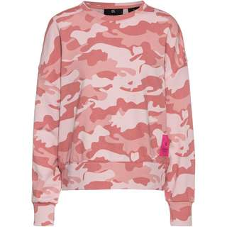 Calvin Klein Camo Story Sweatshirt Damen dusty pink camo