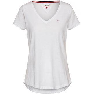 Tommy Jeans V-Shirt Damen classic white