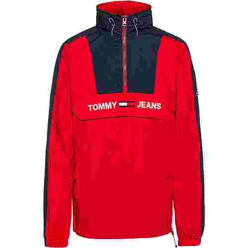 Tommy Hilfiger Windbreaker Herren racing red-black iris