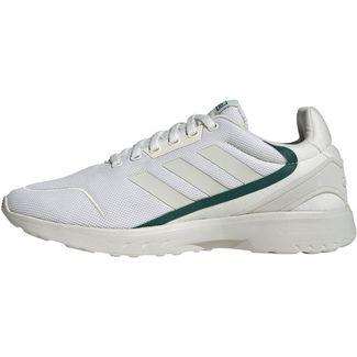 adidas NEBZED Sneaker Herren cloud white-orbit grey-collegiate green