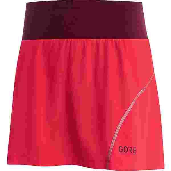 GORE® WEAR R7 Laufrock Damen hibiscus pink/chestnut