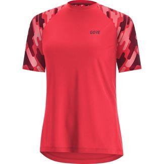GORE® WEAR C5 Funktionsshirt Damen hibiscus pink/chestnut