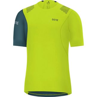 GORE® WEAR R7 Funktionsshirt Herren citrus green- dark nordic