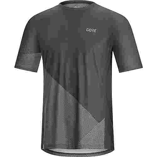 GORE® WEAR C5 Trail Funktionsshirt Herren dark graphite
