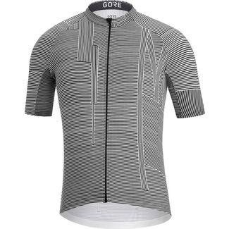 GORE® WEAR GORE® C3 Line Brand Trikot Fahrradtrikot Herren white-black