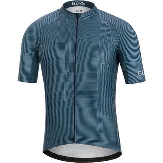 GORE® WEAR GORE® C3 Line Brand Trikot Fahrradtrikot Herren deep waterblue-orbit blue