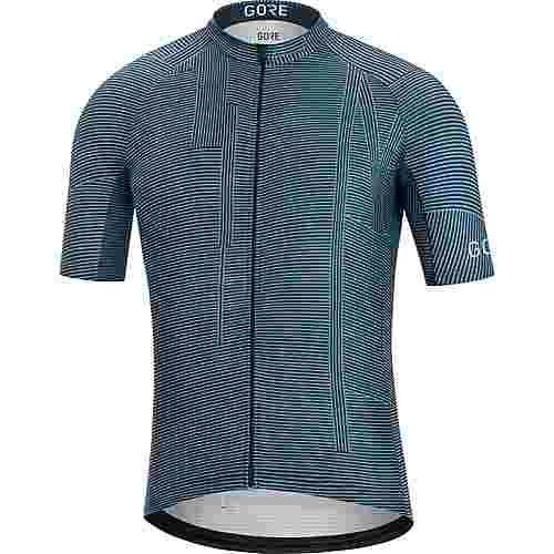 GORE® WEAR GORE® C3 Line Brand Trikot Fahrradtrikot Herren deep waterblue-orbit blue