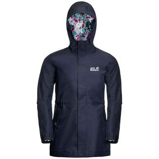 Jack Wolfskin Hidden Falls Softshelljacke Kinder midnight blue