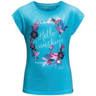 Jack Wolfskin Sunshine T-Shirt Kinder atoll blue