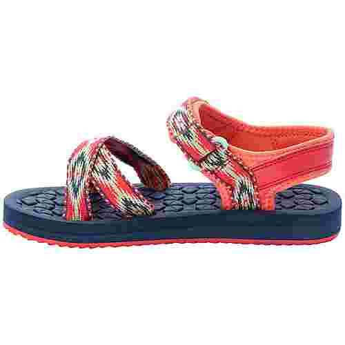 Jack Wolfskin Zulu Outdoorsandalen Kinder red-blue