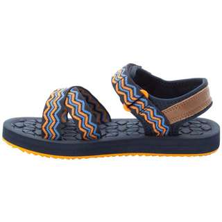 Jack Wolfskin Zulu Sandalen Kinder blue-orange