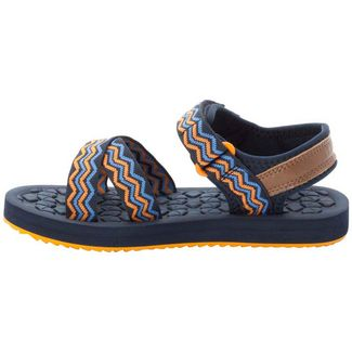Jack Wolfskin Zulu Outdoorsandalen Kinder blue-orange