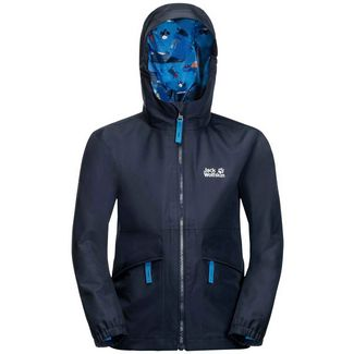 Jack Wolfskin Hidden Falls Softshelljacke Kinder night blue