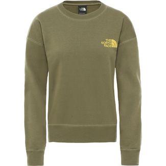 The North Face Parks Slightly Sweatshirt Damen burnt olive green