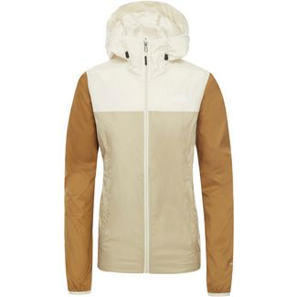 The North Face Cyclone Windbreaker Damen twill beige/vintage white/british khaki