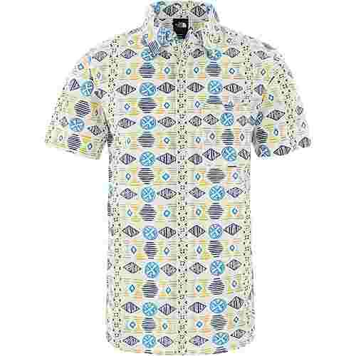 The North Face Baytrail Kurzarmhemd Herren vintage white song lines print