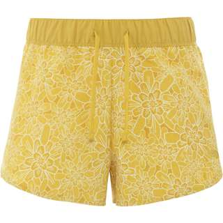 The North Face Class V Shorts Damen bamboo yellow floral block print
