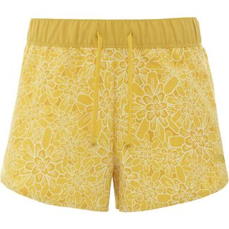 The North Face Class V Wanderhose Damen bamboo yellow floral block print
