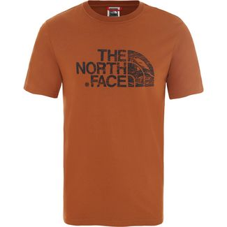 The North Face Woodcut Dome T-Shirt Herren caramel cafe