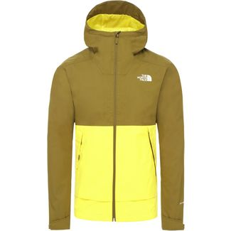 The North Face Millerton Hardshelljacke Herren tnf lemon-fir green