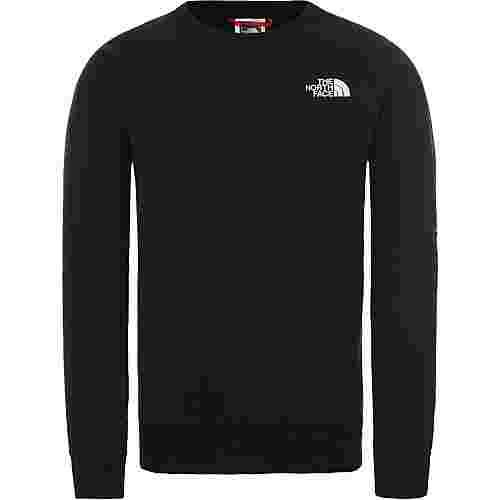 The North Face Raglan Redbox Sweatshirt Herren tnf black-tnf white