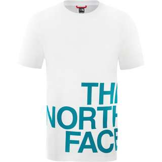 The North Face Graphic Flow 1 T-Shirt Herren tnf white-fanfare green