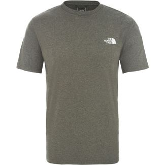 The North Face Reaxion Amp Crew Funktionsshirt Herren New Taupe Green Heather