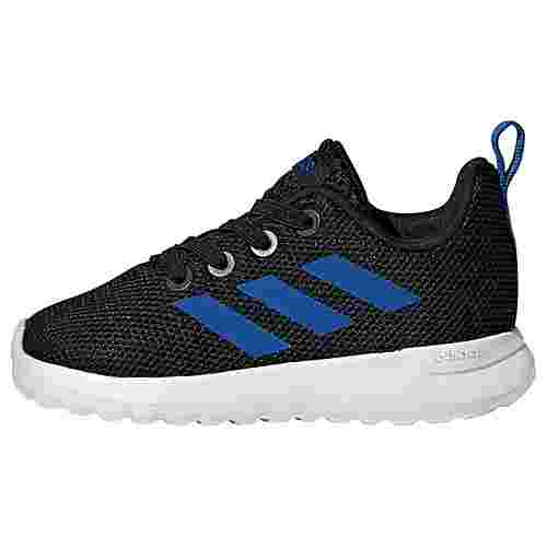 adidas Lite Racer CLN Schuh Sneaker Kinder Core Black / Blue / Cloud White