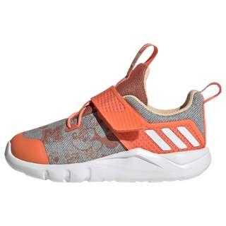adidas RapidaFlex Minnie Schuh Laufschuhe Kinder Light Grey Heather / Cloud White / Semi Coral