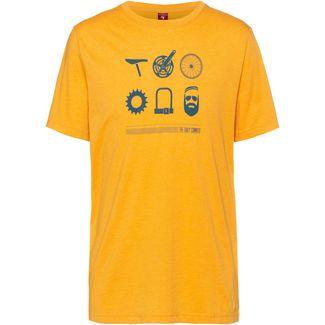 OCK T-Shirt Herren gelb
