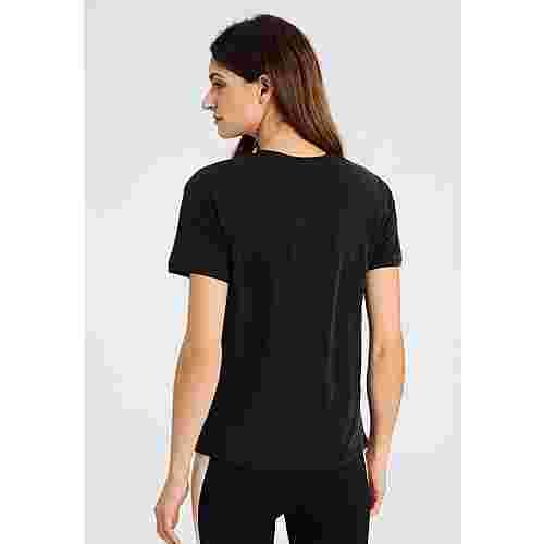 Daquini Olivia V-Neck Tee T-Shirt Damen black