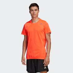 adidas T-Shirt Herren Orange