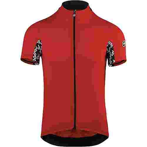 assos Mille GT Short Sleeve Jersey Fahrradtrikot Herren national red