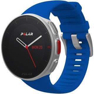 Polar Vantage V HR inkl. H10 Brustgurt Sportuhr blau