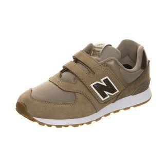 NEW BALANCE YV574-M Sneaker Kinder Sneaker Kinder braun