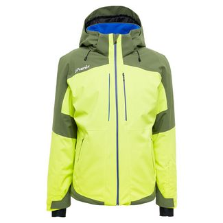 Phenix Slope Skijacke Herren yellow green