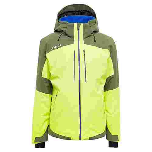 Phenix Slope Skijacke Herren yellow green