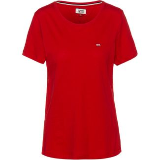 Tommy Hilfiger T-Shirt Damen racing red