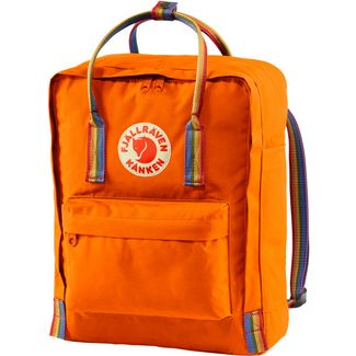 FJÄLLRÄVEN Rucksack Kånken Rainbow Daypack Burnt Orange-Rainbow Pattern