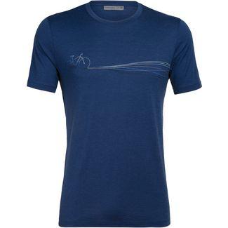 Icebreaker Merino Tech Lite Funktionsshirt Herren estate blue